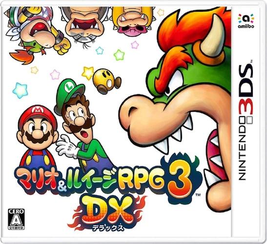 3DSソフトのジャンル一覧