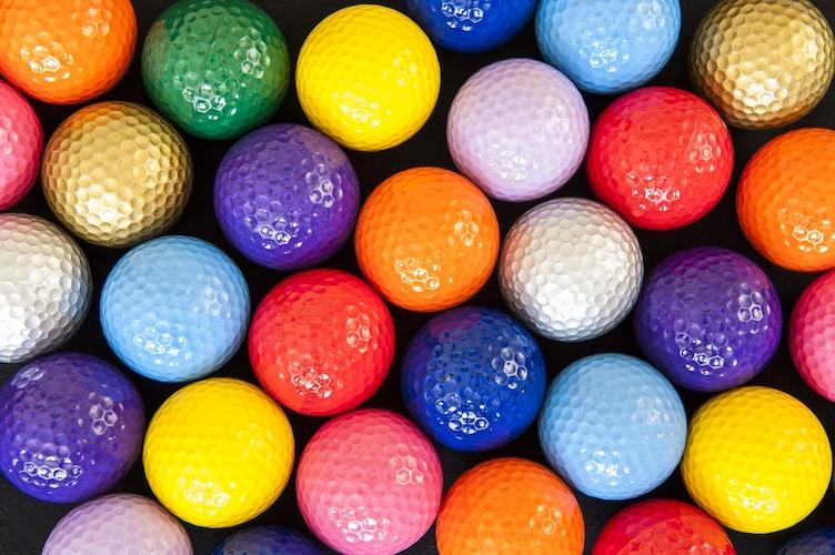 カラー|自分のボールを見つけやすくなる