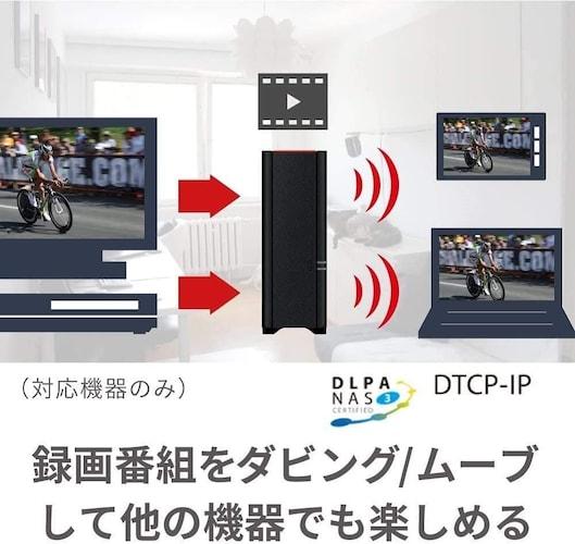 ■DTCP-IP(地デジの録画データなど)