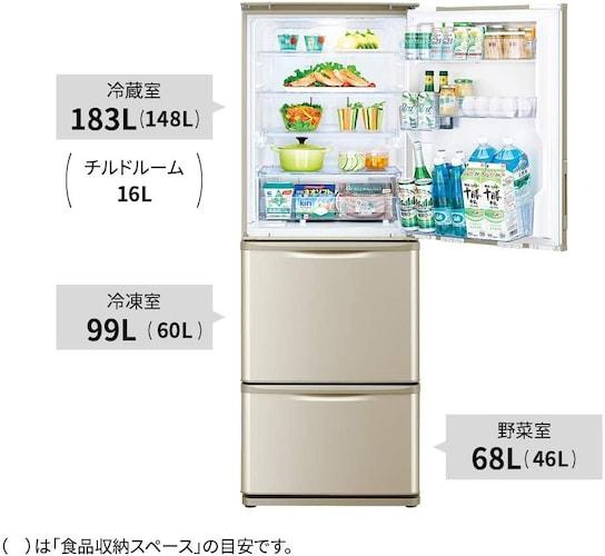 ドアの数|野菜室などがあると食材に合わせた温度管理が可能