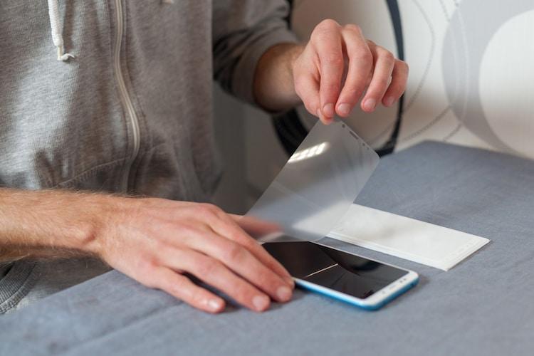 カメラ用液晶保護フィルムの貼り方&剥がし方