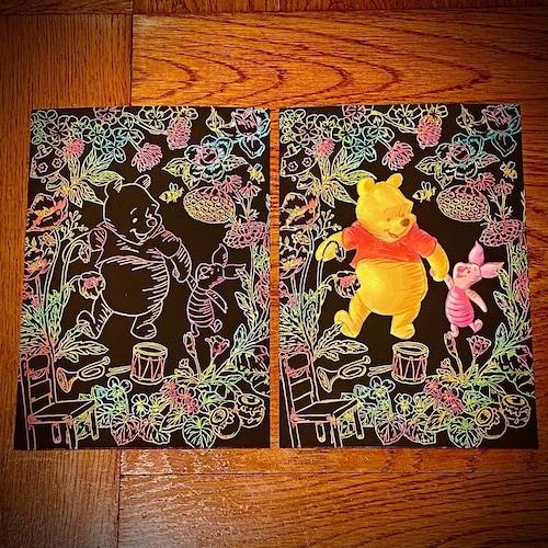 【カード】完成作品をそのまま飾ったりプレゼントしたりできる