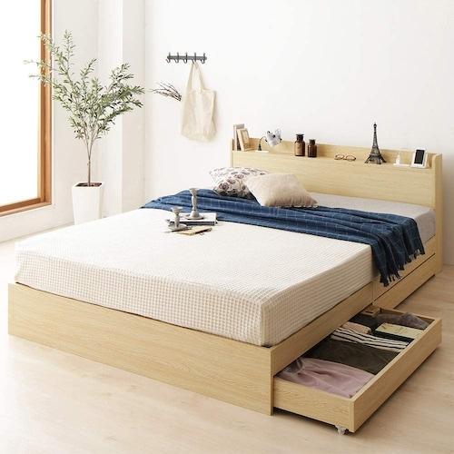 セミダブルベッドとは?2人で寝ることができるのかについても解説
