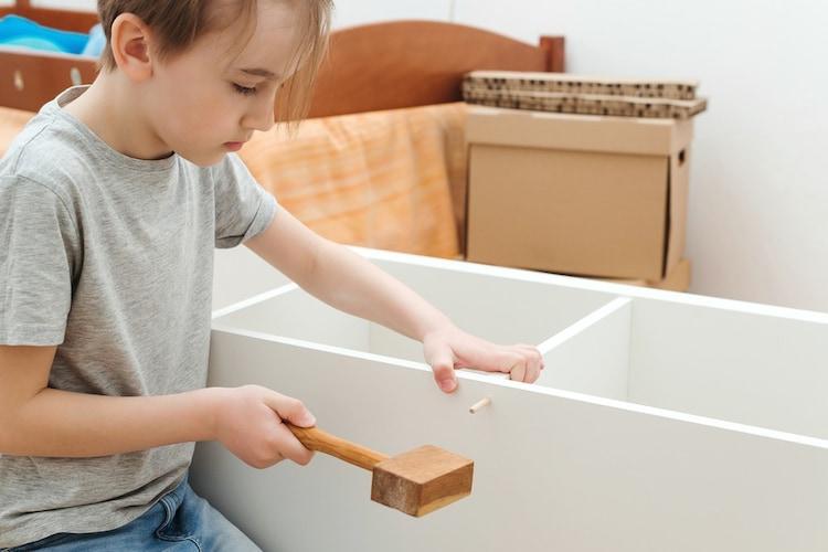 組み立て 初めての方は簡単な組み立てのものがおすすめ