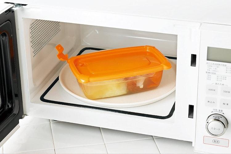 電子レンジ・オーブン|対応製品なら調理から保存まで幅広く活躍