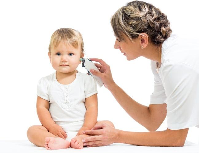 耳式体温計|動きの激しい赤ちゃんにも便利