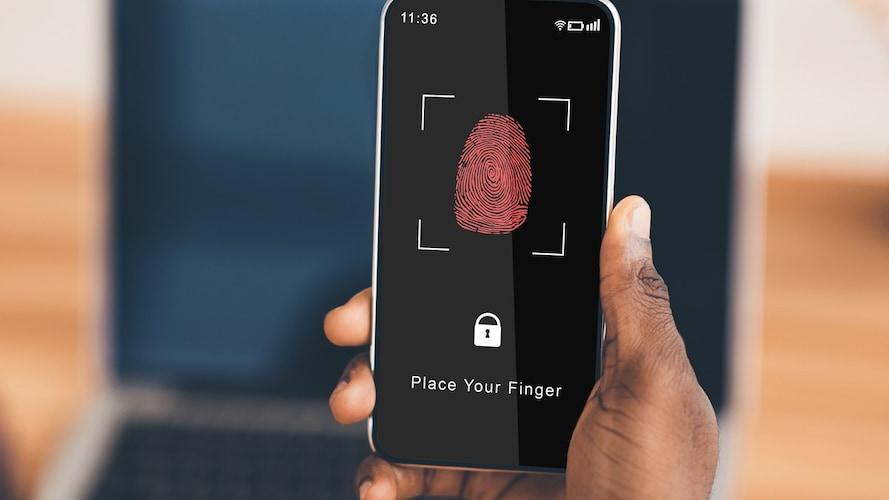 ▼セキュリティ面を重視する方は「指紋認証」や「顔認証」をチェック
