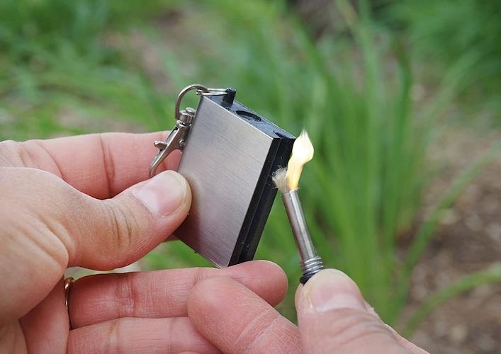 ▼オイルマッチの使い方・着火方法や注意点