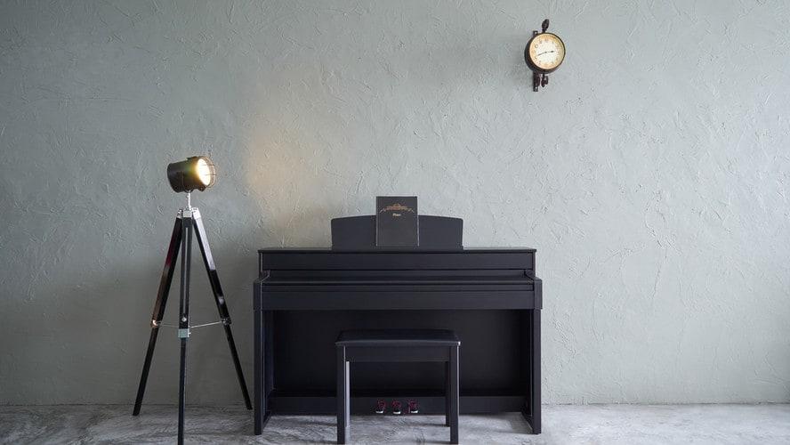 電子ピアノの画像