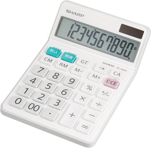 ▼家庭・日常生活で使うなら「普通電卓」
