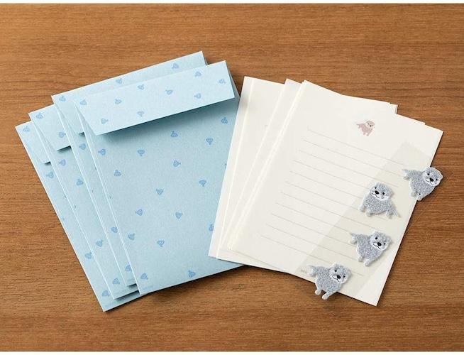 内容|便箋や封筒の枚数をチェック