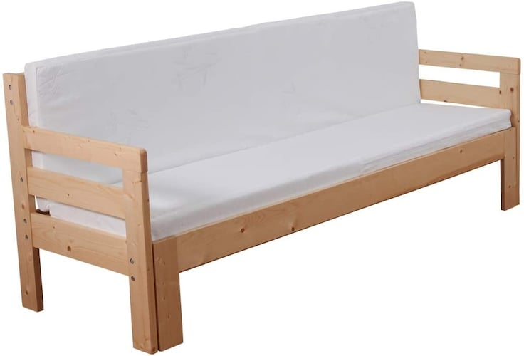 ▼高さ:40cmくらいならソファーとしても使いやすい