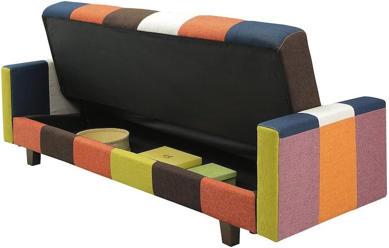 ▼収納付き:部屋のスペースをより有効活用できる