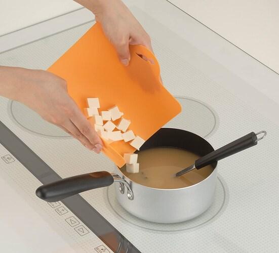 【薄め】食材をそのままお鍋に入れやすい