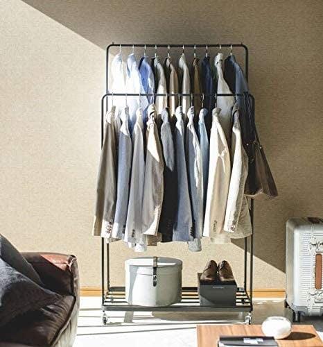 ▼ダブルタイプ:衣服をたくさん収納したい方におすすめ