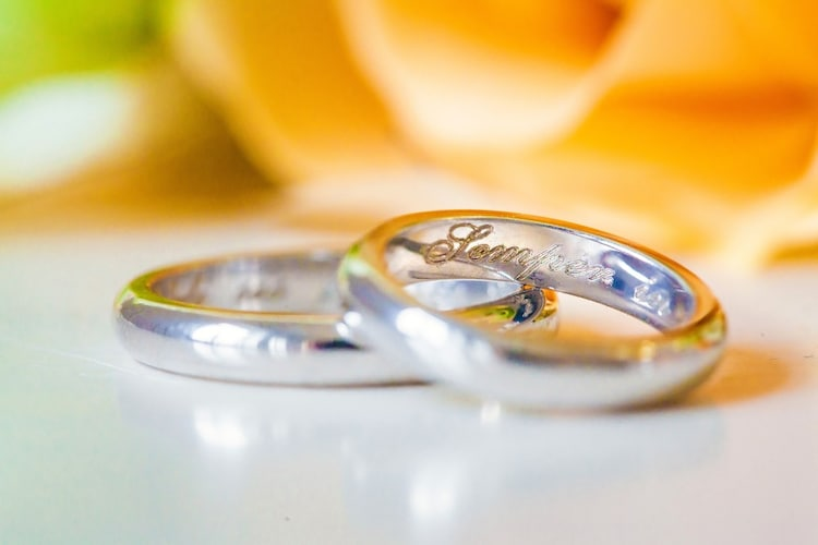 刻印 名前入りなら世界でひとつの特別な指輪に