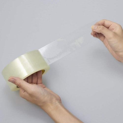 【ビニールテープ(OPP)】剥がれにくく、切れにくい