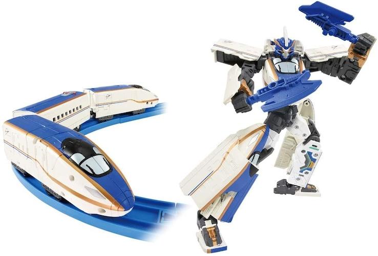 【シンカリオン】新幹線がロボットに変形!2通りで遊べる