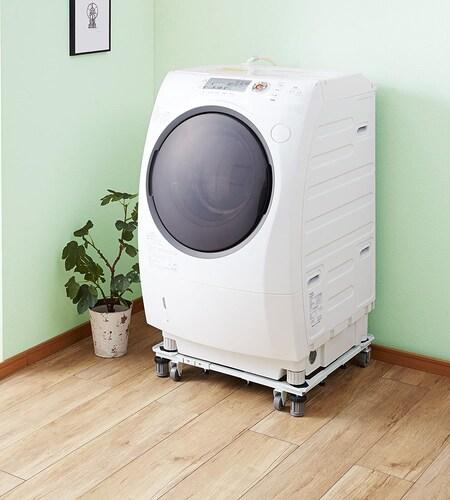 ▼洗濯機置き台で騒音対策とお掃除を簡単に