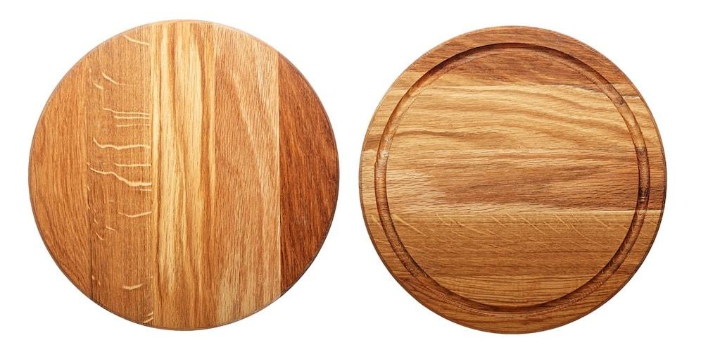 リバーシブル 両面使えると調理、盛り付けで使い分けが可能