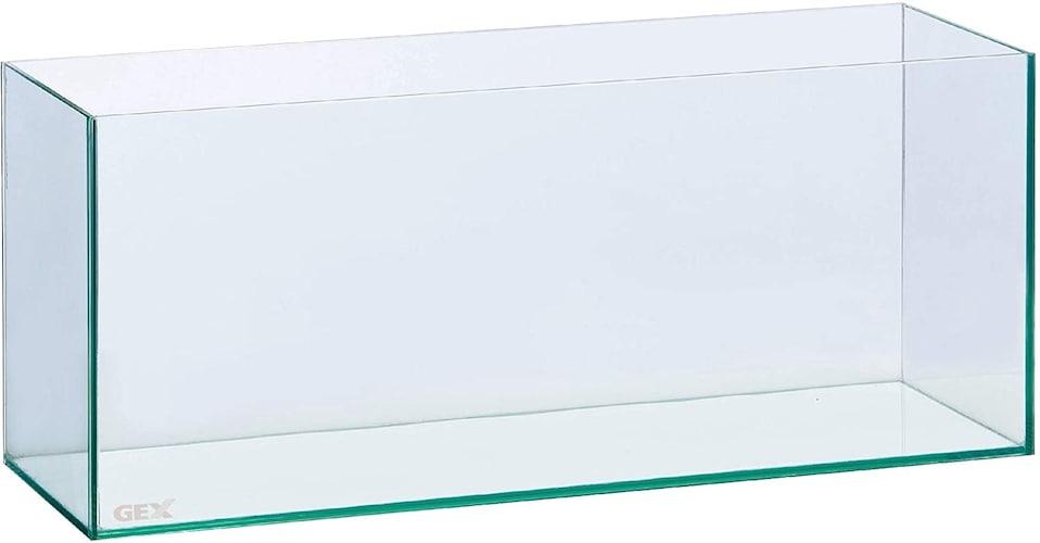 ▼フィルターやライトを合わせやすい「規格水槽」
