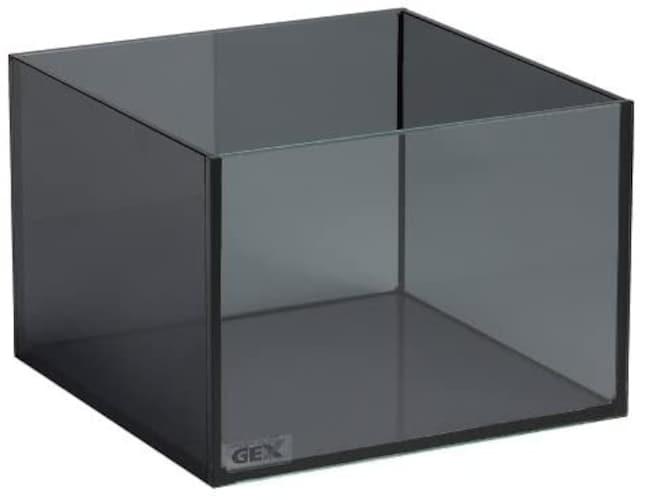 メダカ飼育用水槽のスモークガラスの特徴