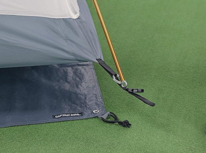 サイズ|テントよりも少し小さいものを選ぼう