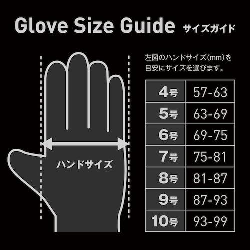 サイズ 自分の手にフィットするものを選ぼう