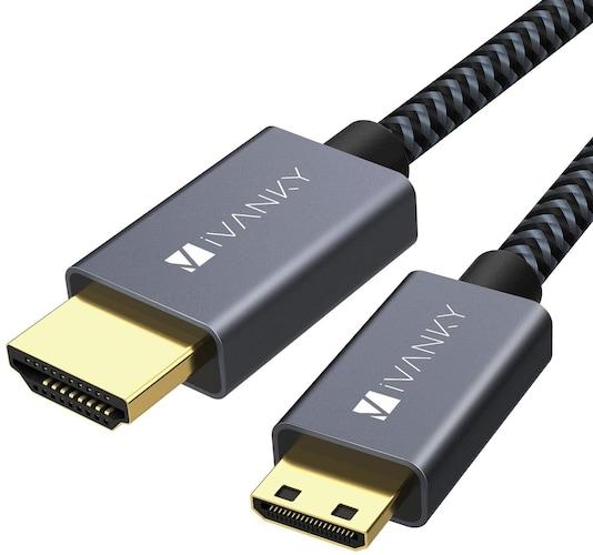 ▼HDMI mini(タイプC)