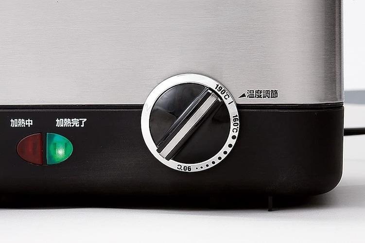 ▼具体的な温度を細かく調節できると便利