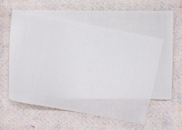 ◼︎薄い生地にはテープの厚みを考慮