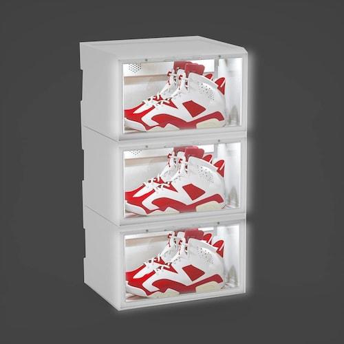 【箱型】コレクションケースとしても人気!しばらく履かない靴の整理にもおすすめ