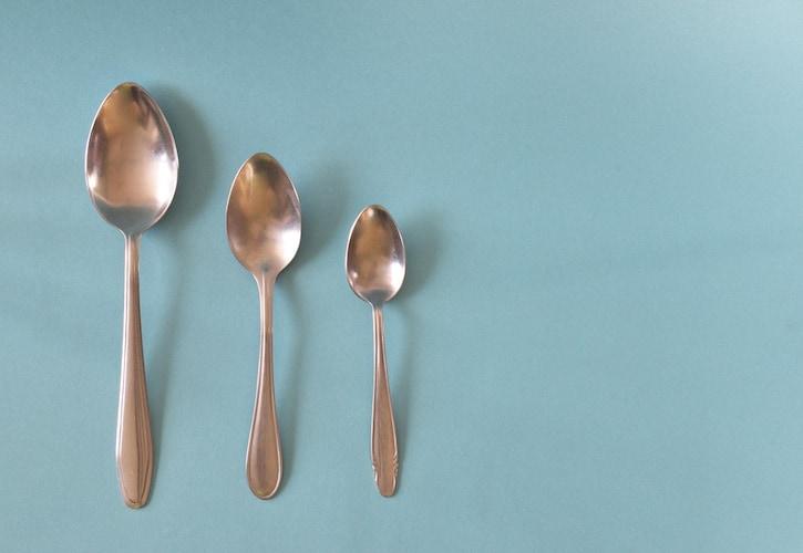 種類|テーブルスプーンとティースプーンのふたつがあればOK