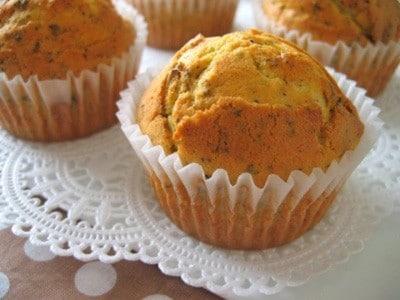 簡単マフィンレシピ!薄力粉等50gベースで作る人気の焼き菓子