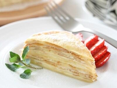簡単お菓子レシピ ミルクレープの作り方