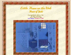 Little Home on the Web - Home of Yuki