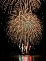 横浜で唯一、砂浜で花火が楽しめる金沢まつり花火大会(画像提供:金沢まつり実行委員会)