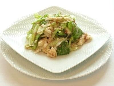 キャベツと長芋のサラダレシピ……ノンオイルで低カロリー!