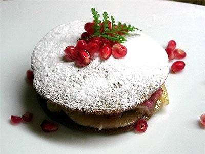 カリフォルニアざくろのパンケーキ