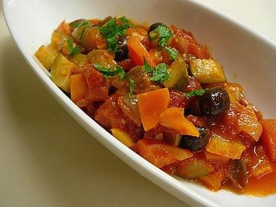 夏野菜のカポナータ…冷蔵保存でパスタソースなどにも