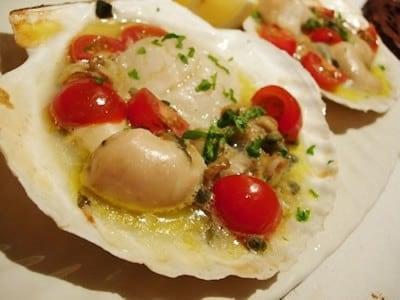 イタリアングリルのレシピ!殻付きホタテで簡単調理