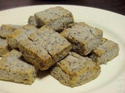 話題の塩スイーツ ごま塩クッキー