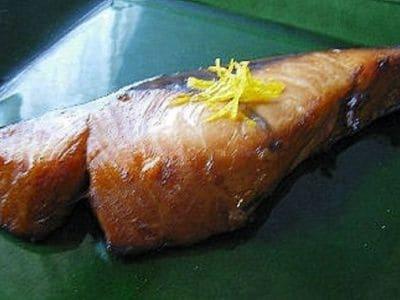 鰤(ブリ)の柚庵焼き