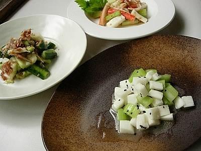 夏野菜のクールレシピ3品