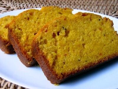 簡単おやつ かぼちゃの焼きケーキの作り方