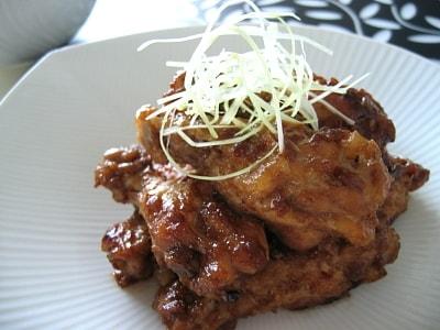 手軽にメイン 鶏の照り煮・梅風味