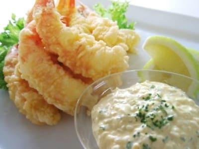 エビのフリッター&お手軽タルタルソースの作り方!簡単夕食レシピ
