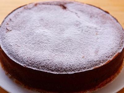 バレンタインにバナナチョコチーズケーキ
