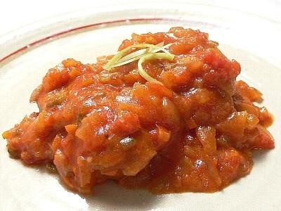 鶏肉のトマト煮の作り方・レシピ
