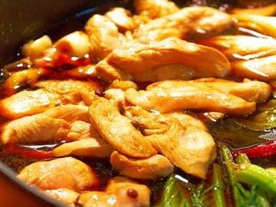 シルクロード風酔鶏鍋